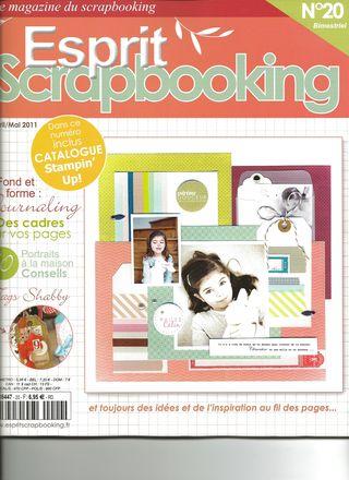 Esprit scrapbooking rose stamps p 50